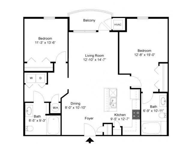 Floor Plan 2 | Alexander at Patroon Creek