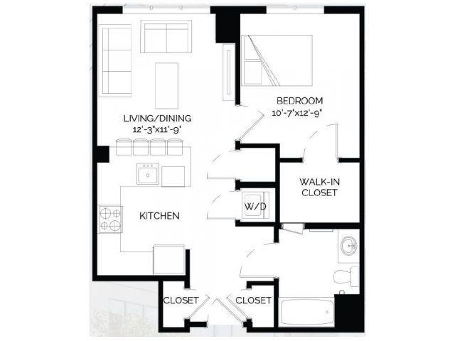 Floor Plan 5 | West of Chestnut