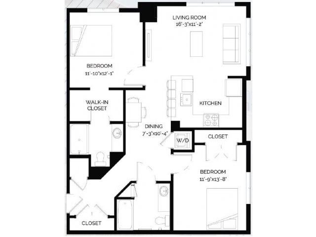 Floor Plan 25 | West of Chestnut
