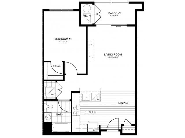 Floor Plan | Verde at Greenbelt Station