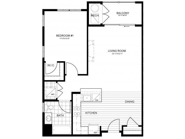 Floor Plan 3 | Verde at Greenbelt Station