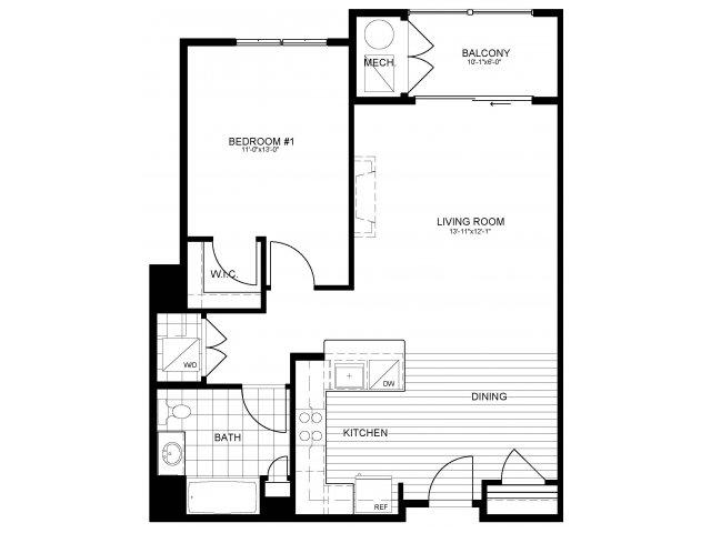 Floor Plan 5 | Verde at Greenbelt Station
