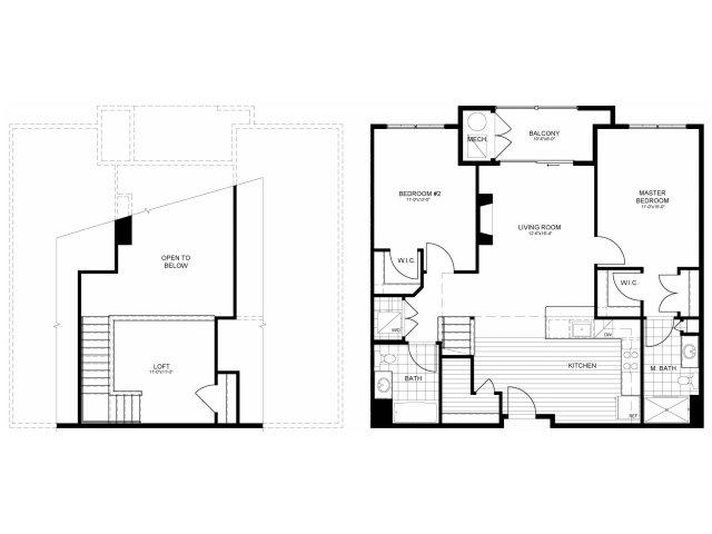 Floor Plan 13 | Verde at Greenbelt Station