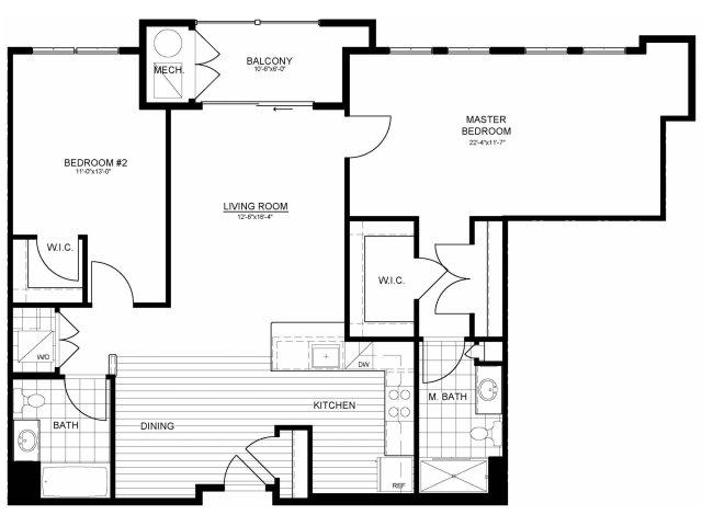 Floor Plan 14 | Verde at Greenbelt Station