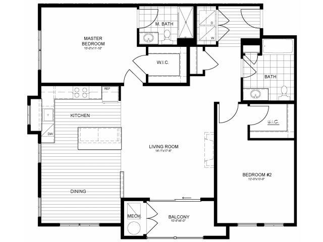 Floor Plan 16 | Verde at Greenbelt Station