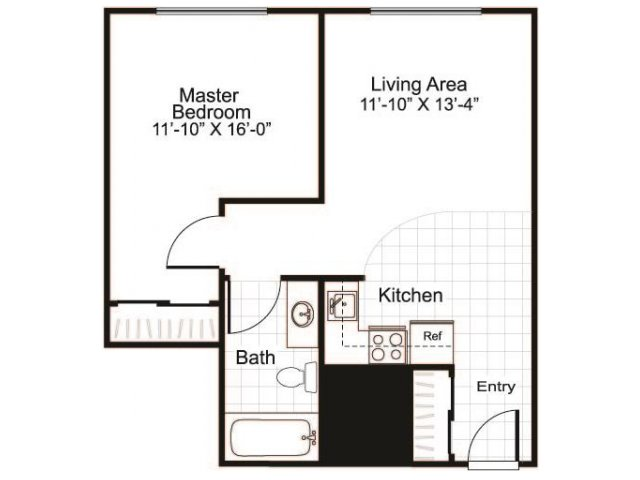 Floor Plan 2 | Greenview Village