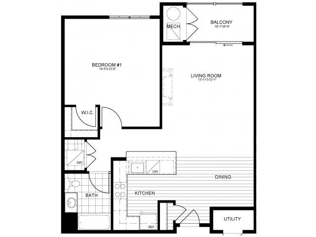 Floor Plan 8 | Verde at Greenbelt Station