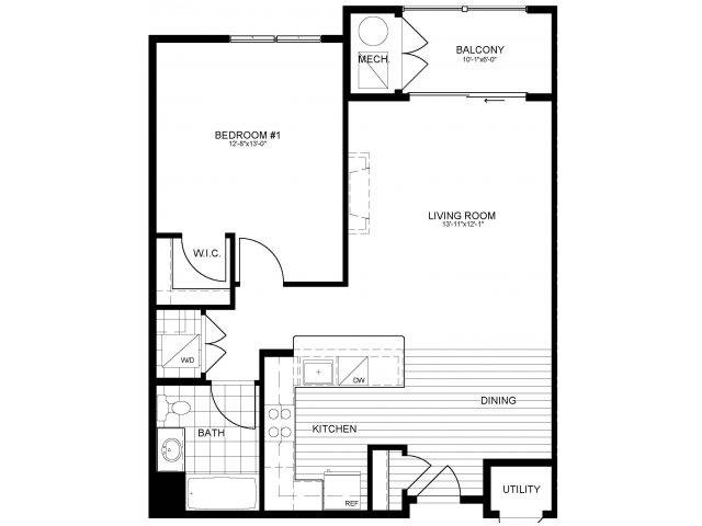 Floor Plan 10 | Verde at Greenbelt Station