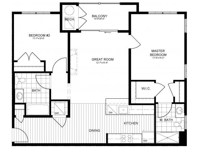 Floor Plan 15 | Verde at Greenbelt Station