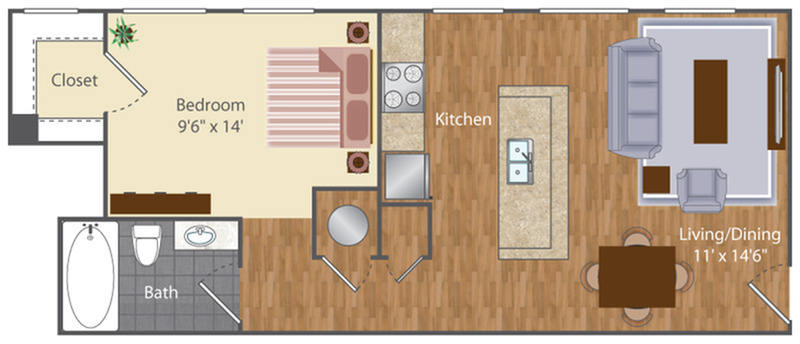 Floor Plan 3 | The Lenore