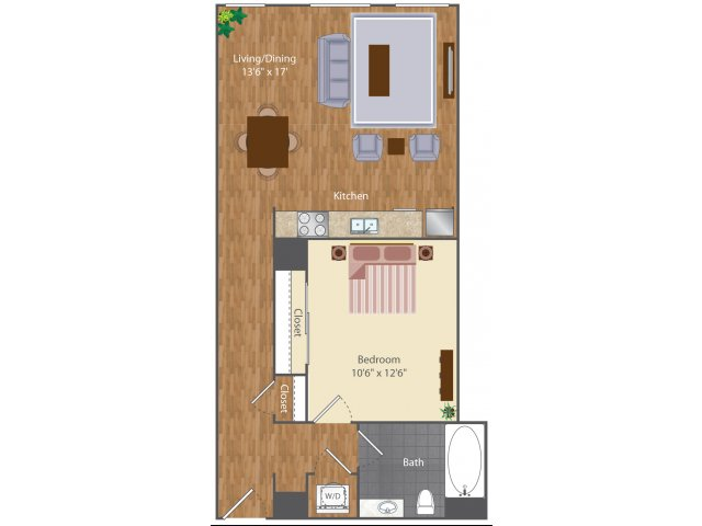 Floor Plan 5 | The Lenore