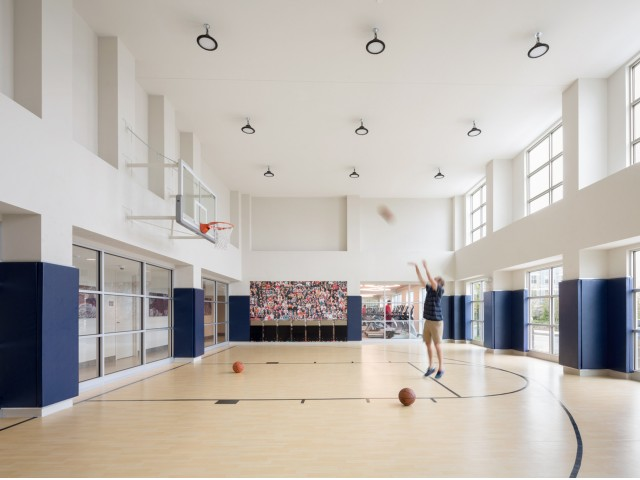Image of Basketball Court for One North of Boston