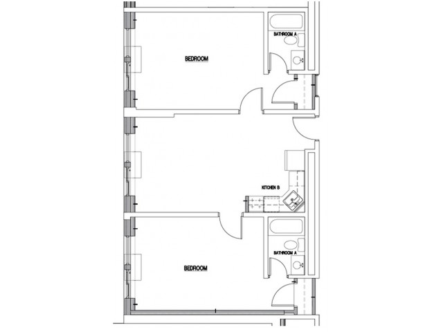 Floor Plan 10 | Apartments in Downtown Baltimore | The 501
