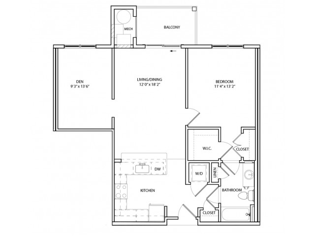 Floor Plan 6 | KW6 | Overlook at Franklin Square