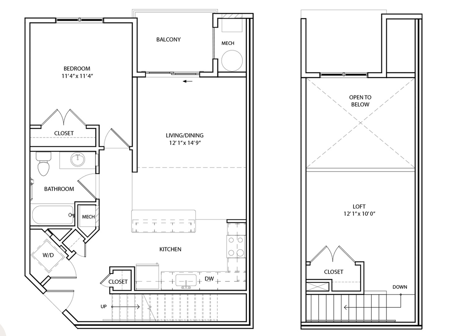 Floor Plan 8 | KW8 | Overlook at Franklin Square