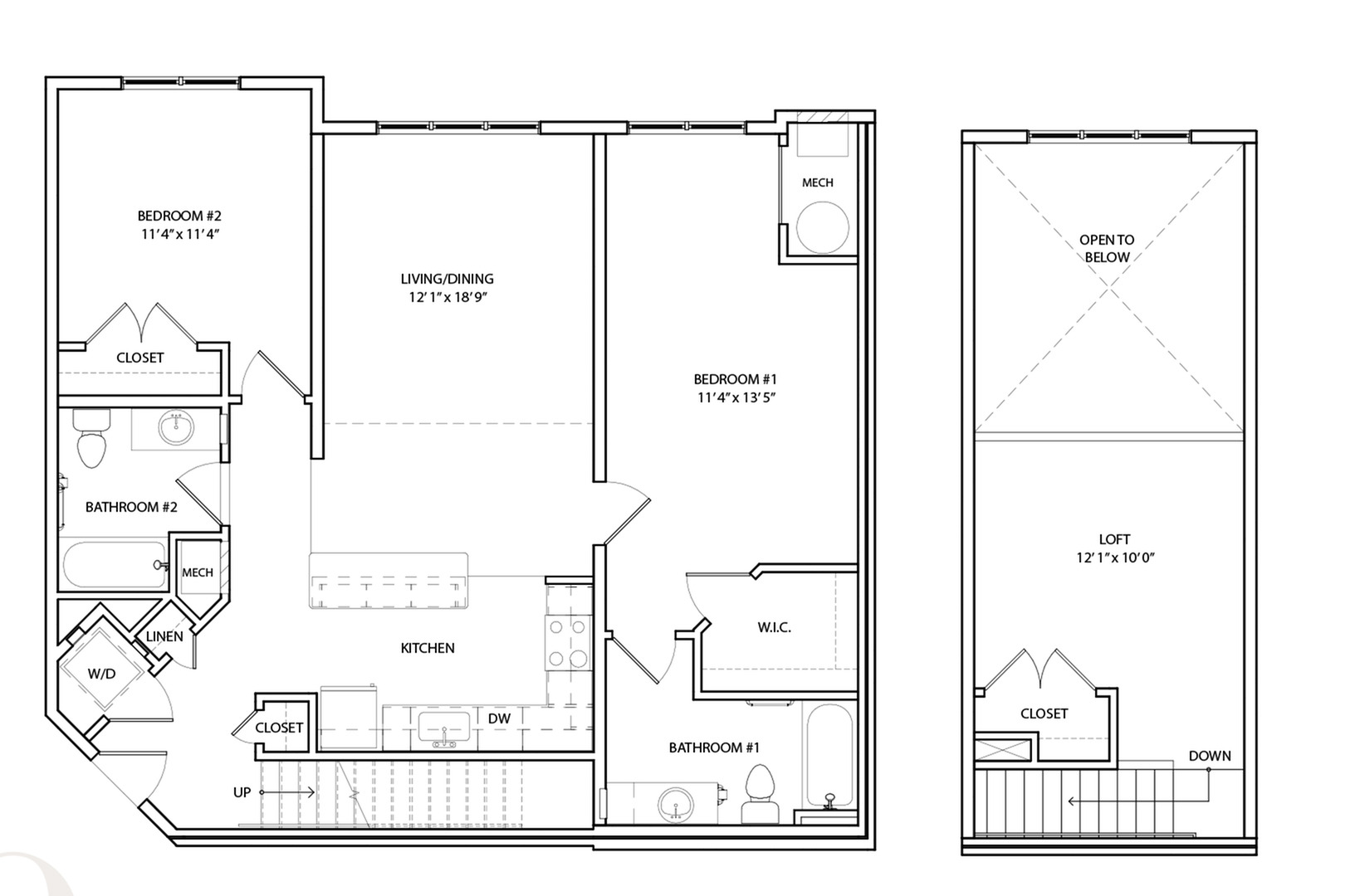 Floor Plan 19 | KW9 | Overlook at Franklin Square