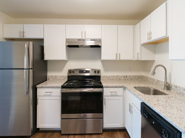 Image of Renovated Gourmet Kitchens in Select Homes for South Winds Apartments