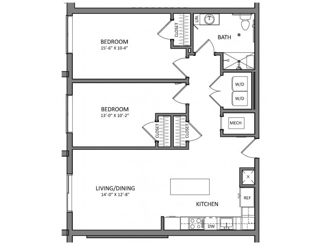 Floor Plan 9 | Apartments For Rent North Of Boston | Link 480