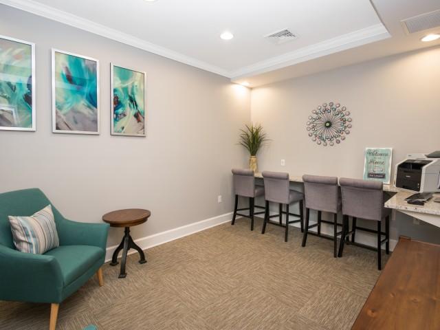 Resident Business Center | Apartments In Johnston RI | Ledges at Johnston