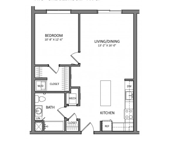 Floor Plan 5 | Apartments North Of Boston | Link 480