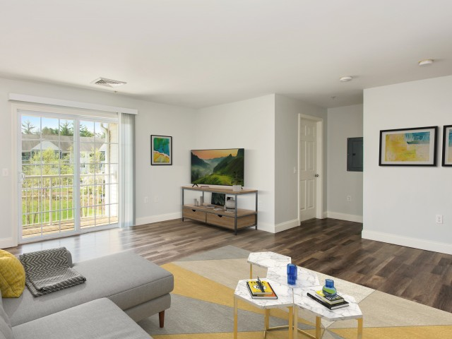 Image of Wood flooring in select homes for Heritage at Bedford Springs