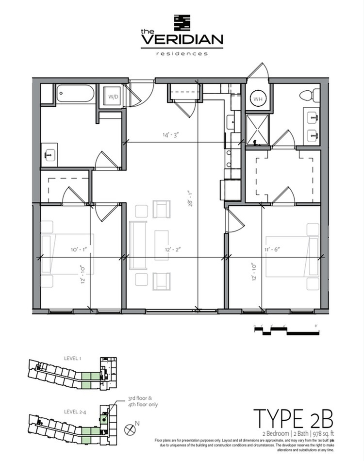 Floor Plan 3 | Apartments In Portsmouth NH | Veridian Residences