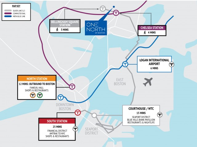 Image of Silver Line Access to Seaport & Logan Airport for One North of Boston