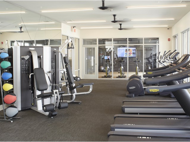 Image of Club Fit: 24/7 fitness room for The Mave