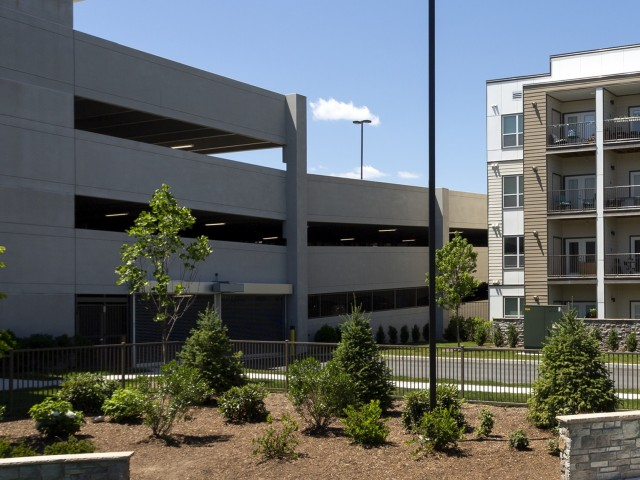 Image of Garage: multi-level covered parking for The Mave