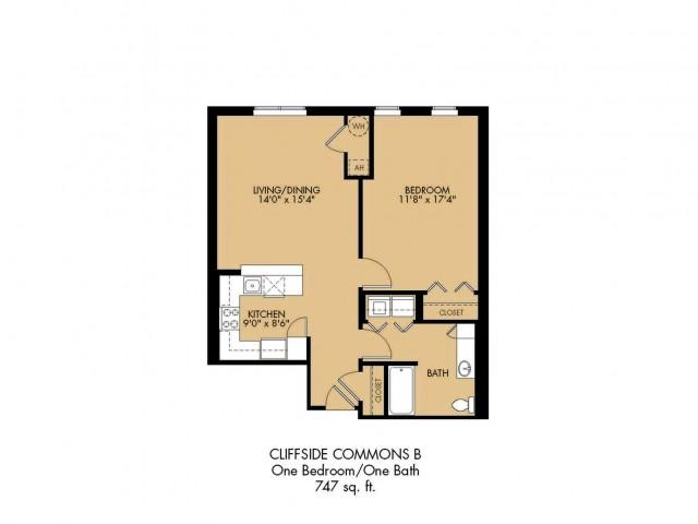 Floor Plan 7 | 2 Bedroom Apartments Malden Ma | Strata