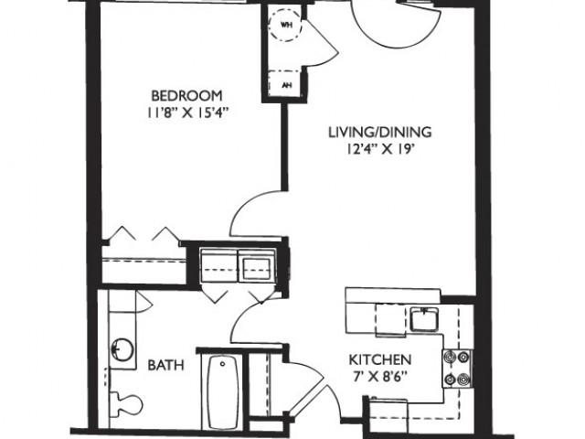 Floor Plan 9 | Luxury Apartments Malden Ma | Strata