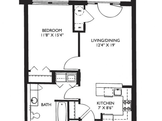 Floor Plan 5 | Apartments For Rent In Malden Ma | Strata