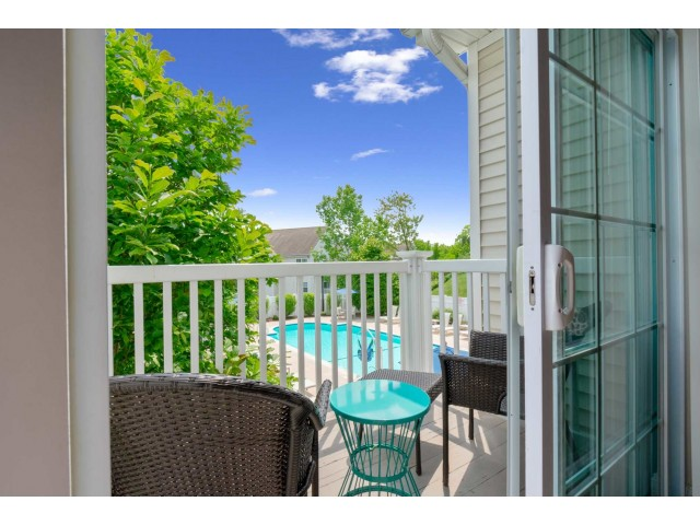 Spacious Apartment Balcony | Cranston RI Apartments For Rent | Independence Place
