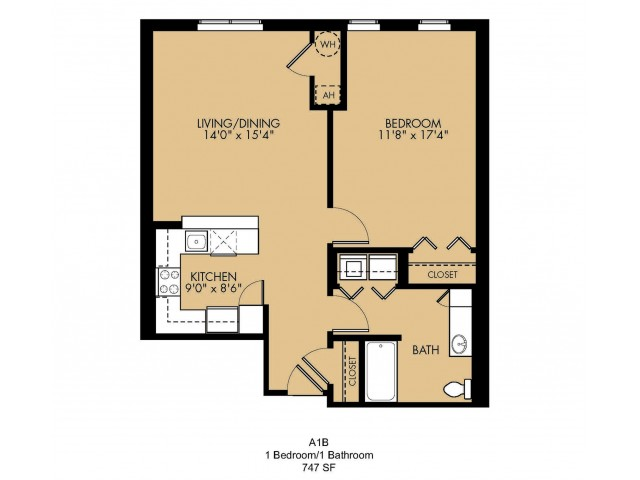 Floor Plan 4 | Malden Massachusetts Apartments | Strata