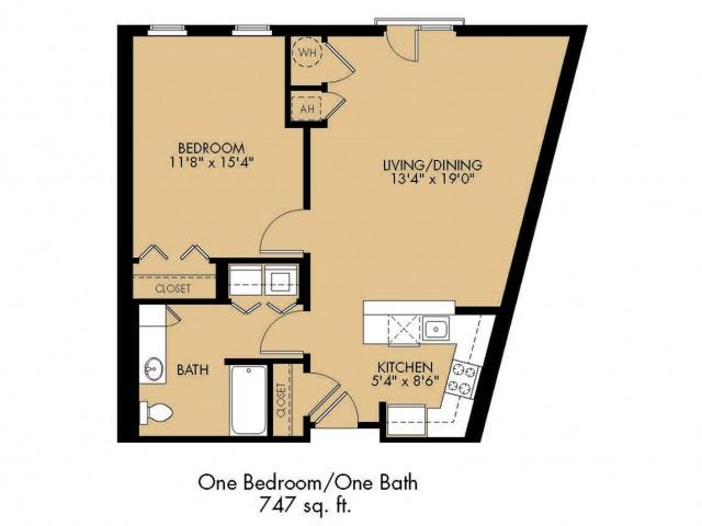 Floor Plan 11 | Apartments In Malden Ma | Strata