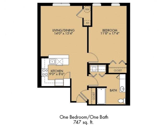 Floor Plan 8 | Malden Ma Apartments | Strata