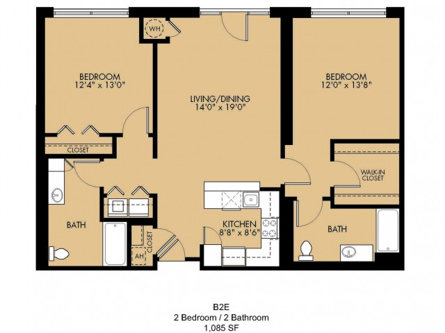 Floor Plan 16 | Apartments In Malden Ma | Strata