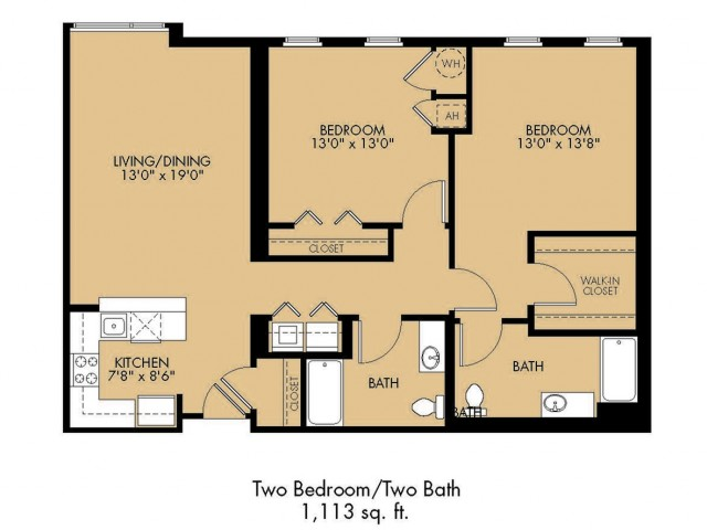 Floor Plan 20 | Apartments For Rent In Malden Ma | Strata