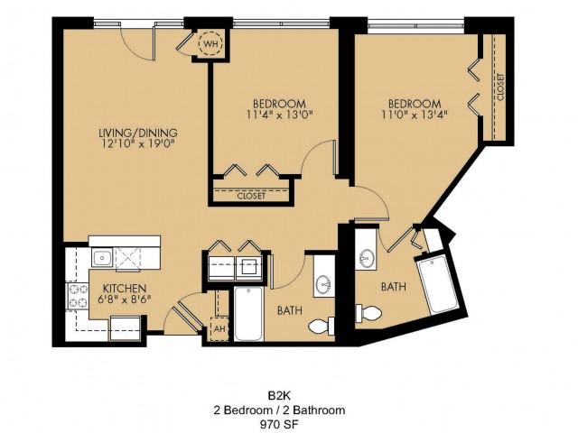 Floor Plan 28 | Malden Ma Apartments | Strata