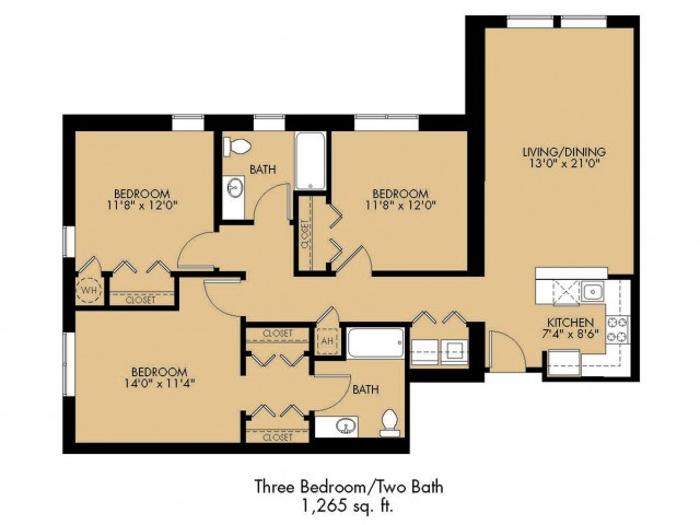 Floor Plan 33 | Malden Ma Apartments | Strata