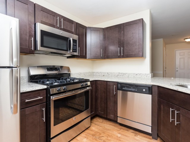 Image of Fully Equipped Kitchen for Beacon Place Apartments