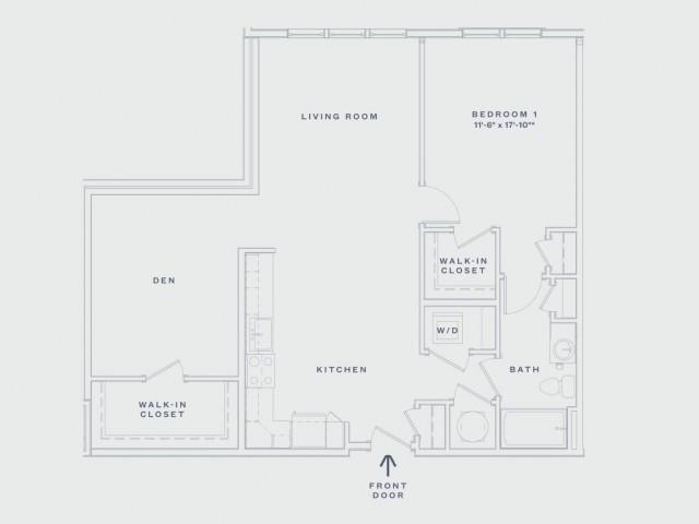 One Bedroom / One Bath