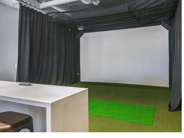 State of the art Golf Simulator | The Q