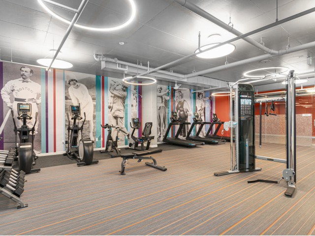 24-hour fitness center | The Q