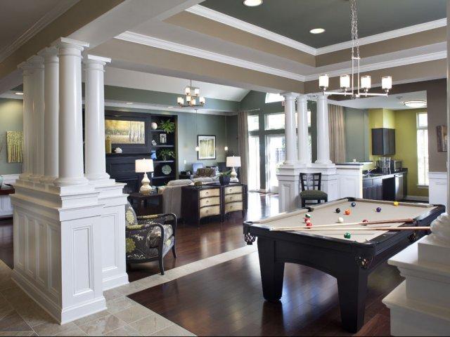 apartments near Newark, DE billiards table