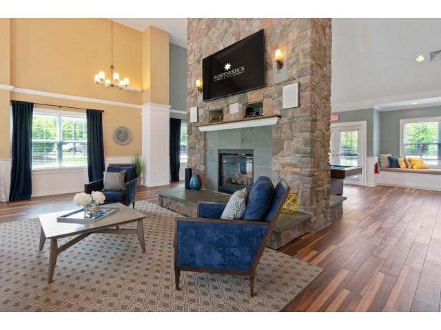 Elegant Resident Club House | Cranston RI Apartment Homes | Independence Place