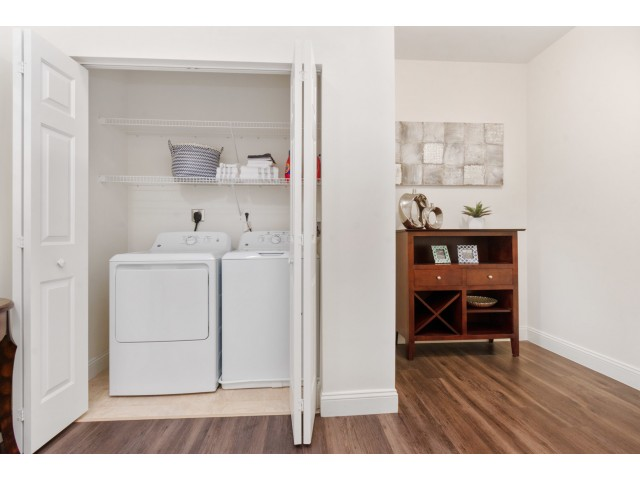 In-home Laundry  | Apartments Homes for rent in Cranston, RI | Independence Place