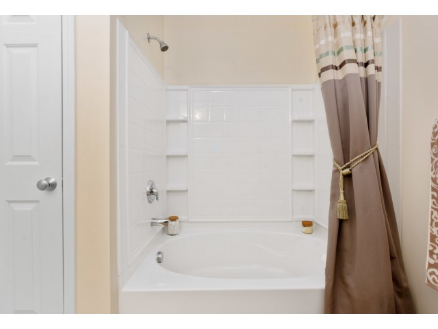 Spacious Master Bathroom | Apartments Homes for rent in Cranston, RI | Independence Place