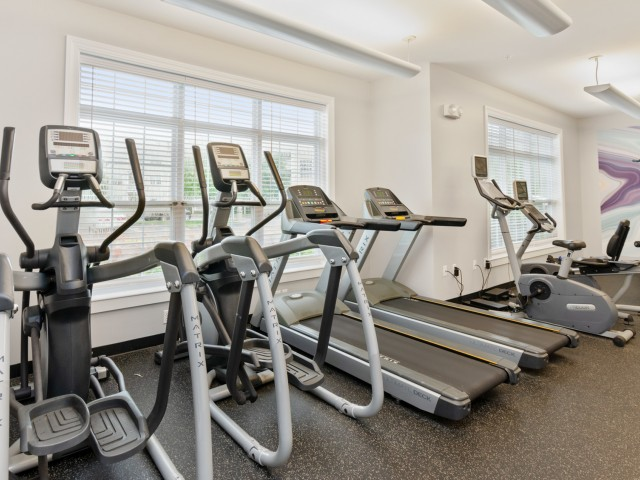 Fitness center at The Ledges at Johnston | RI