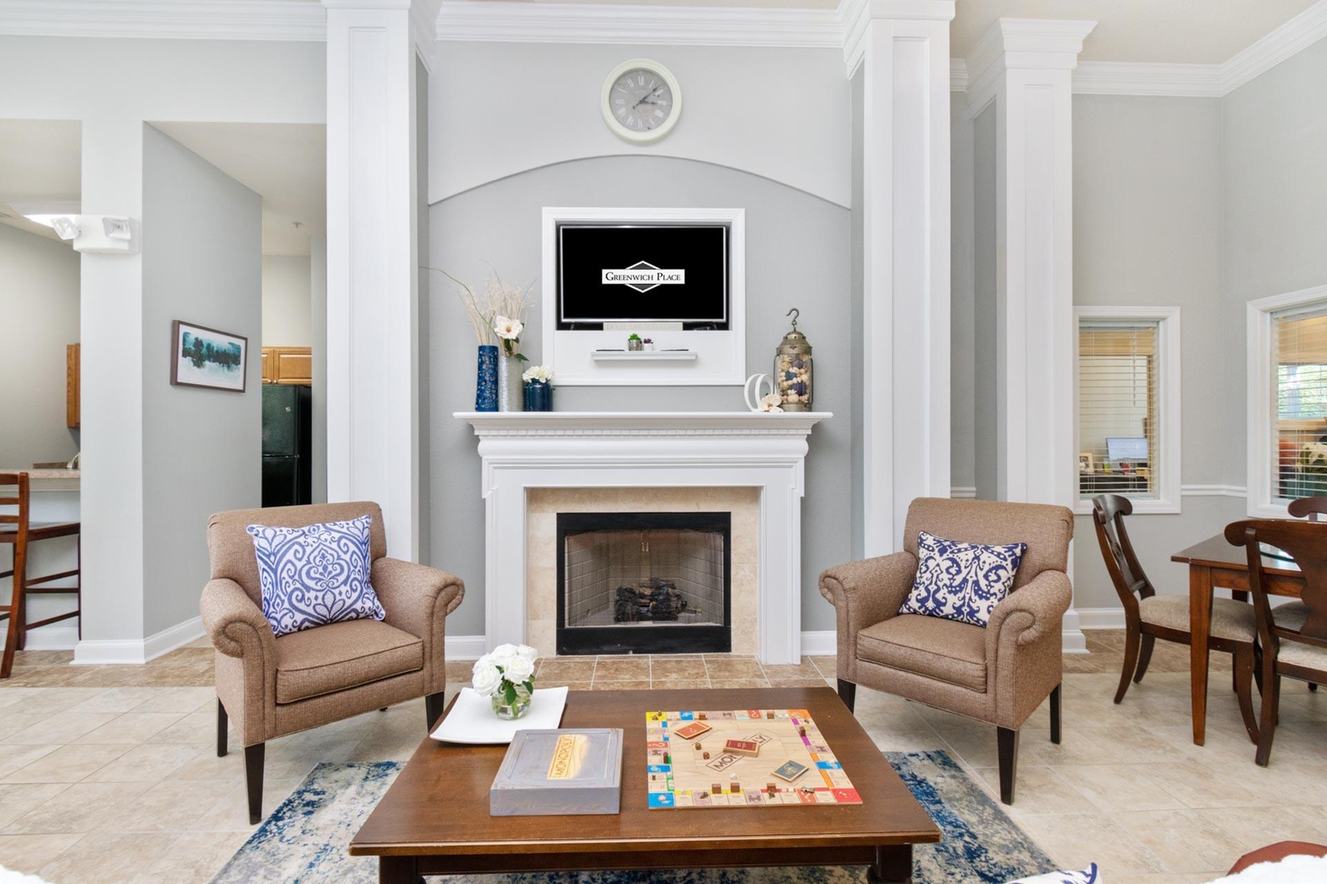 Elegant Resident Club House | West Warwick RI 1 Apartment Homes |